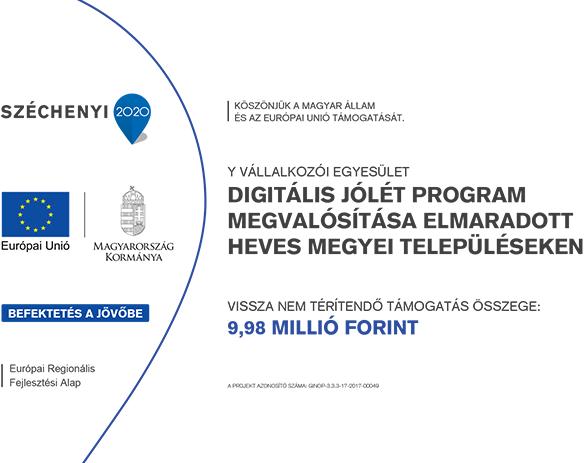 Digitális Jólét Program - Széchenyi terv